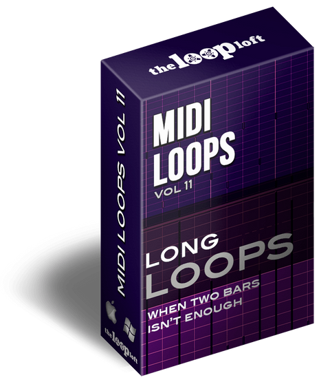 The Loop Loft Loop Pack Long Loops Vol 2 - MIDI Drum Loops