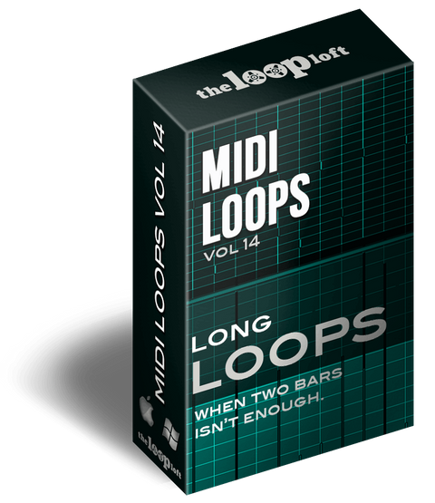 The Loop Loft Loop Pack Long Loops Vol 3 - MIDI Drum Loops