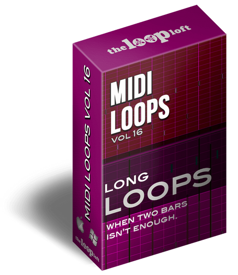 The Loop Loft Loop Pack Long Loops Vol 5 - MIDI Drum Loops