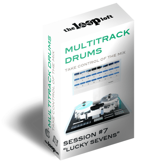 The Loop Loft Loop Pack Lucky Sevens - Multitrack Drums Session #7