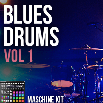 The Loop Loft Loop Pack Maschine Kit - Blues Drums 1