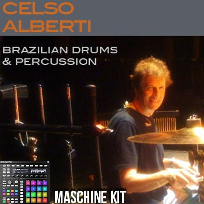 The Loop Loft Loop Pack Maschine Kit - Brazilian Drums & Percussion 1