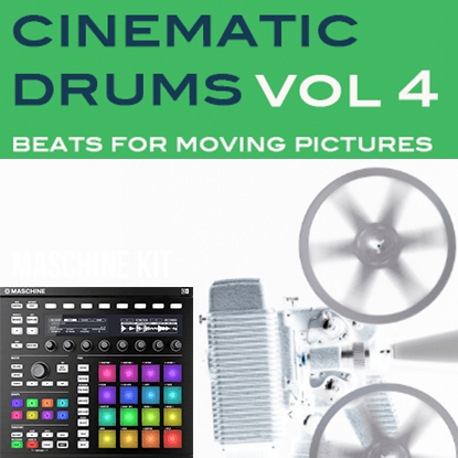 The Loop Loft Loop Pack Maschine Kit - Cinematic Drums 4