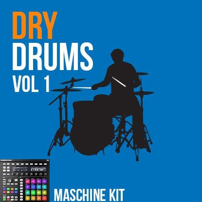 The Loop Loft Loop Pack Maschine Kit - Dry Drums Vol 1
