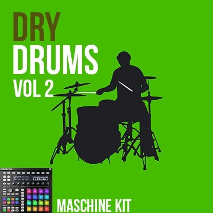 The Loop Loft Loop Pack Maschine Kit - Dry Drums Vol 2