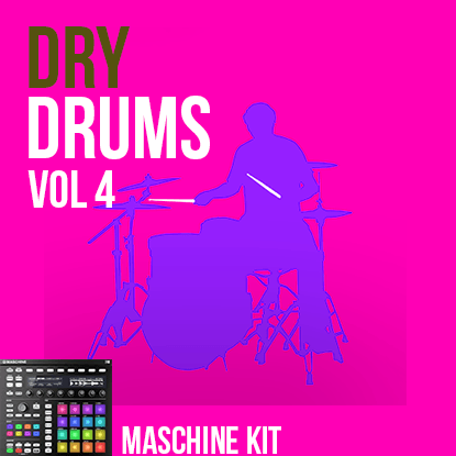 The Loop Loft Loop Pack Maschine Kit - Dry Drums Vol 4