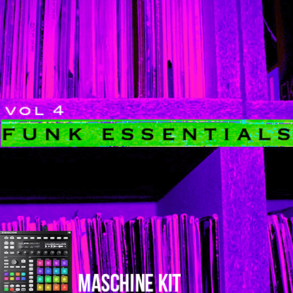 The Loop Loft Loop Pack MASCHINE Kit - Funk Drums 4