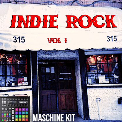 The Loop Loft Loop Pack Maschine Kit - Indie Rock Drums 1