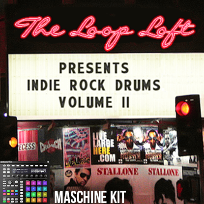 The Loop Loft Loop Pack Maschine Kit - Indie Rock Drums 2