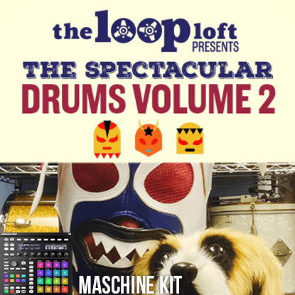 The Loop Loft Loop Pack MASCHINE Kit - Matt Chamberlain Vol 2