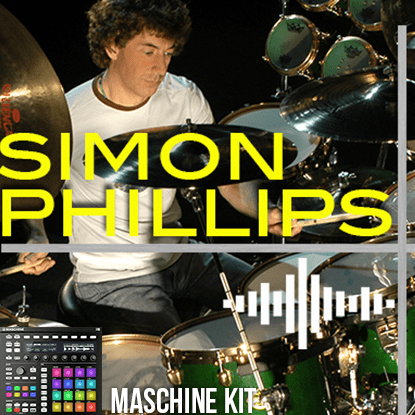 The Loop Loft Loop Pack Maschine Kit - Simon Phillips