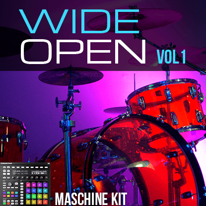 The Loop Loft Loop Pack Maschine Kits - Wide Open Drums Vol 1