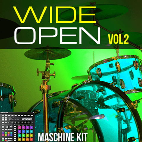Maschine Kits - Wide Open Drums Vol 2