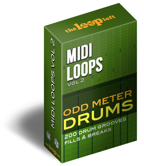 The Loop Loft Loop Pack Odd Meter Drums - MIDI Drum Loops