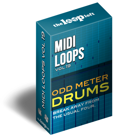 The Loop Loft Loop Pack Odd Meter Drums Vol 2 - MIDI Drum Loops