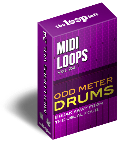 The Loop Loft Loop Pack Odd Meter Drums Vol 3 - MIDI Drum Loops
