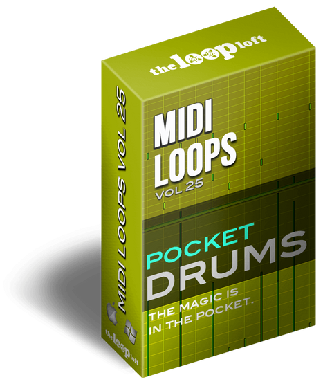 The Loop Loft Loop Pack Pocket Drums Vol 1 - MIDI Drum Loops
