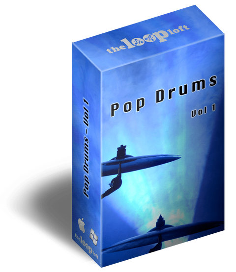 The Loop Loft Loop Pack Pop Drums Volume 1