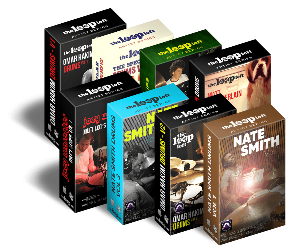 Pro Tools All-Star Drum Sessions Bundle