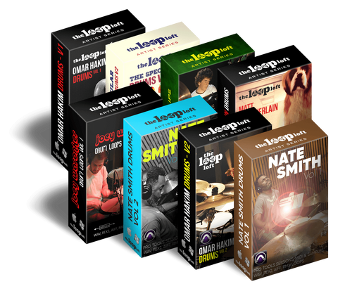 The Loop Loft Loop Pack Pro Tools All-Star Drum Sessions Bundle