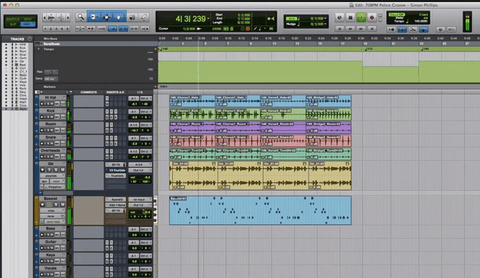The Loop Loft Loop Pack Pro Tools Sessions - Simon Phillips Drums