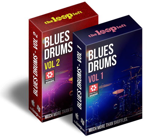 The Loop Loft Loop Pack Reason ReFill - Blues Drums Bundle - Save 25%
