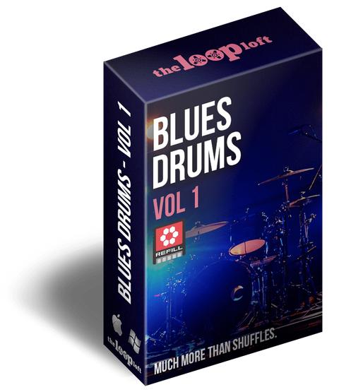 The Loop Loft Loop Pack Reason ReFill - Blues Drums Volume 1
