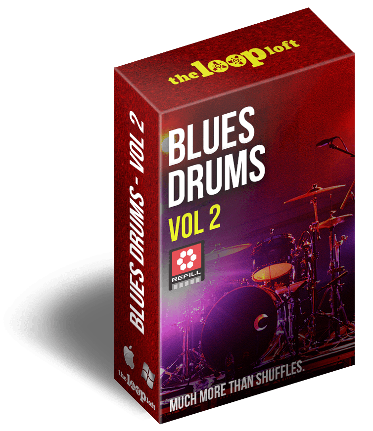 The Loop Loft Loop Pack Reason ReFill - Blues Drums Volume 2