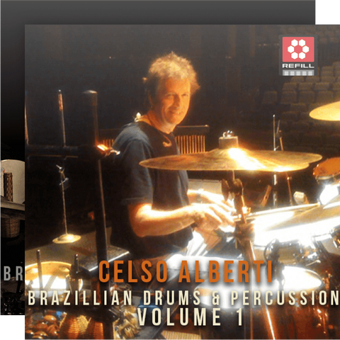 The Loop Loft Loop Pack Reason ReFill - Celso Alberti Brazilian Drums Bundle - Save 25%