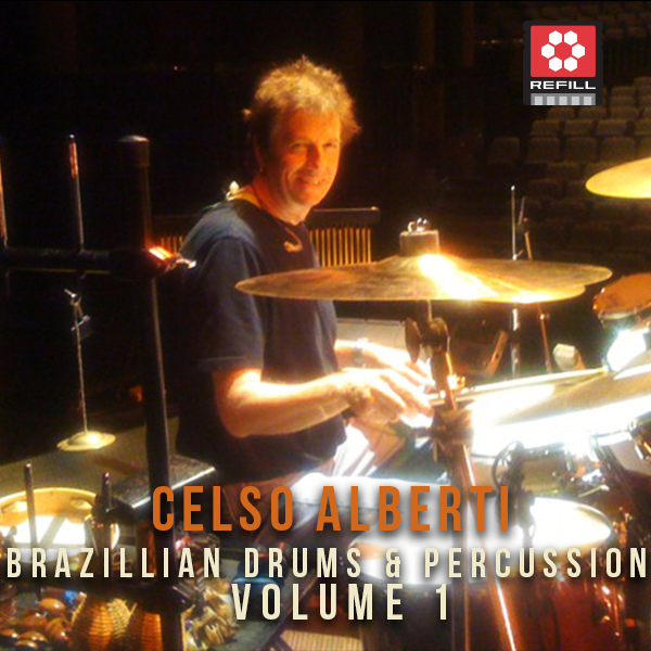 The Loop Loft Loop Pack Reason ReFill - Celso Alberti Brazilian Drums & Percussion Vol 1
