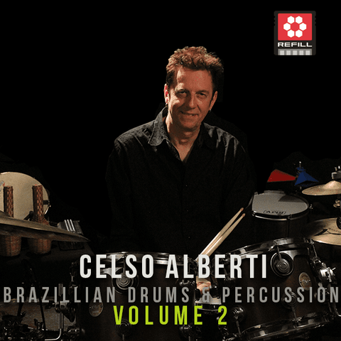 The Loop Loft Loop Pack Reason ReFill - Celso Alberti Brazilian Drums & Percussion Vol 2