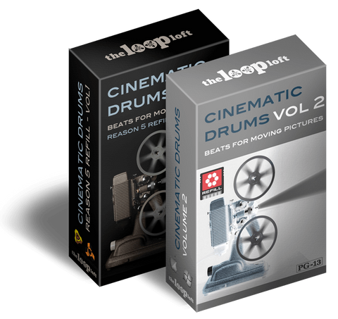 The Loop Loft Loop Pack Reason ReFill - Cinematic Drums Bundle - Save 25%