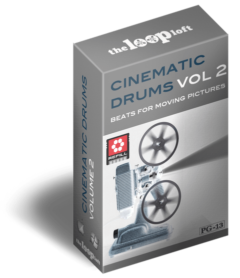 The Loop Loft Loop Pack Reason ReFill - Cinematic Drums Vol 2