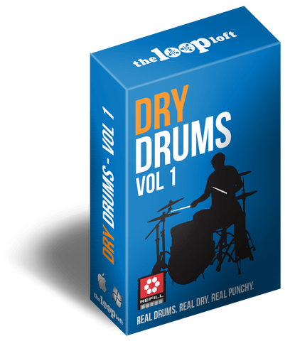The Loop Loft Loop Pack Reason ReFill - Dry Drums Volume 1