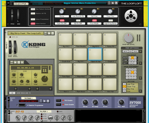 The Loop Loft Loop Pack Reason ReFill - Funk Essentials