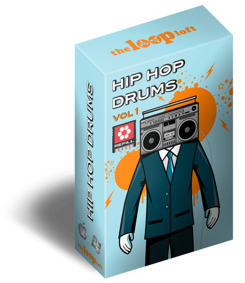 The Loop Loft Loop Pack Reason ReFill - Hip Hop Drums Vol 1