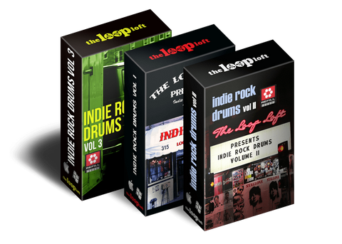 The Loop Loft Loop Pack Reason ReFill - Indie Rock Drums Bundle - Save 25%
