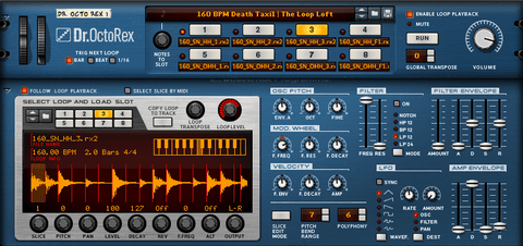 The Loop Loft Loop Pack Reason ReFill - Indie Rock Drums Vol 2