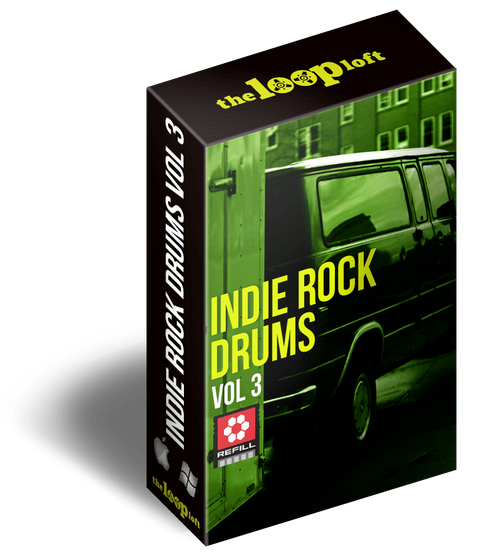 The Loop Loft Loop Pack Reason ReFill - Indie Rock Drums Vol 3