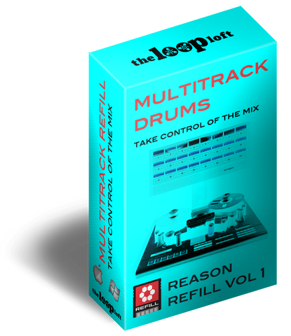 The Loop Loft Loop Pack Reason ReFill - Multitrack Drums Vol 1
