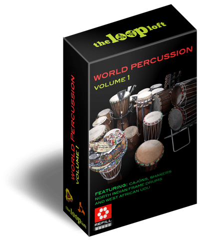 The Loop Loft Loop Pack Reason ReFill - World Percussion Loops