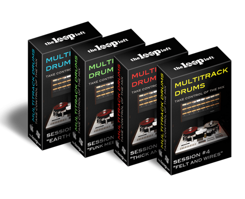 The Loop Loft Loop Pack Save 25% - Multitrack Drums Bundle 1
