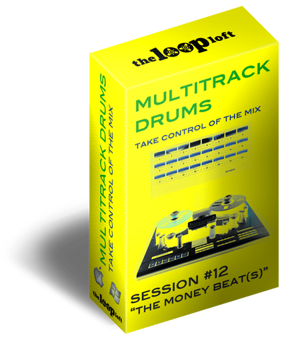 The Loop Loft Loop Pack The Money Beat(s) - Multitrack Drums Session #12
