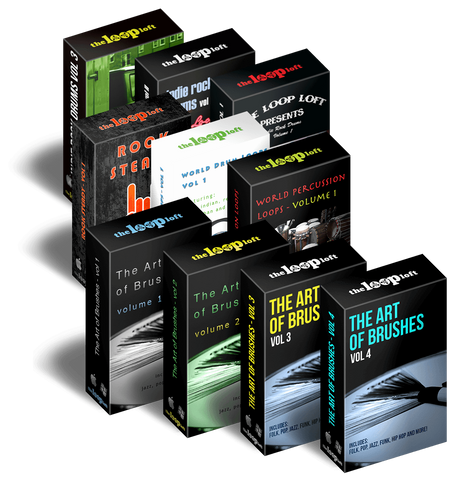 The Loop Loft Loop Pack The Songwriter Drum Bundle