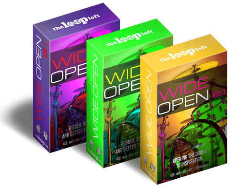 The Loop Loft Loop Pack Wide Open Drums Bundle