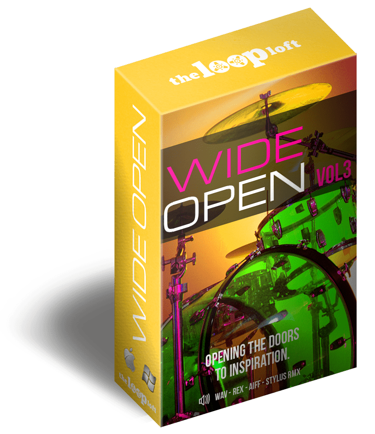 The Loop Loft Loop Pack Wide Open Drums Vol 3