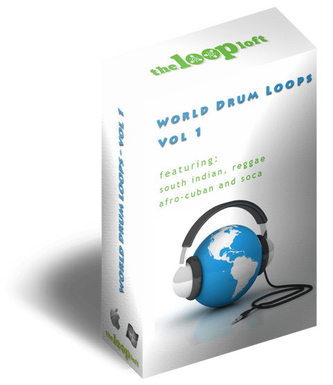 The Loop Loft Loop Pack World Drum Loops Vol 1
