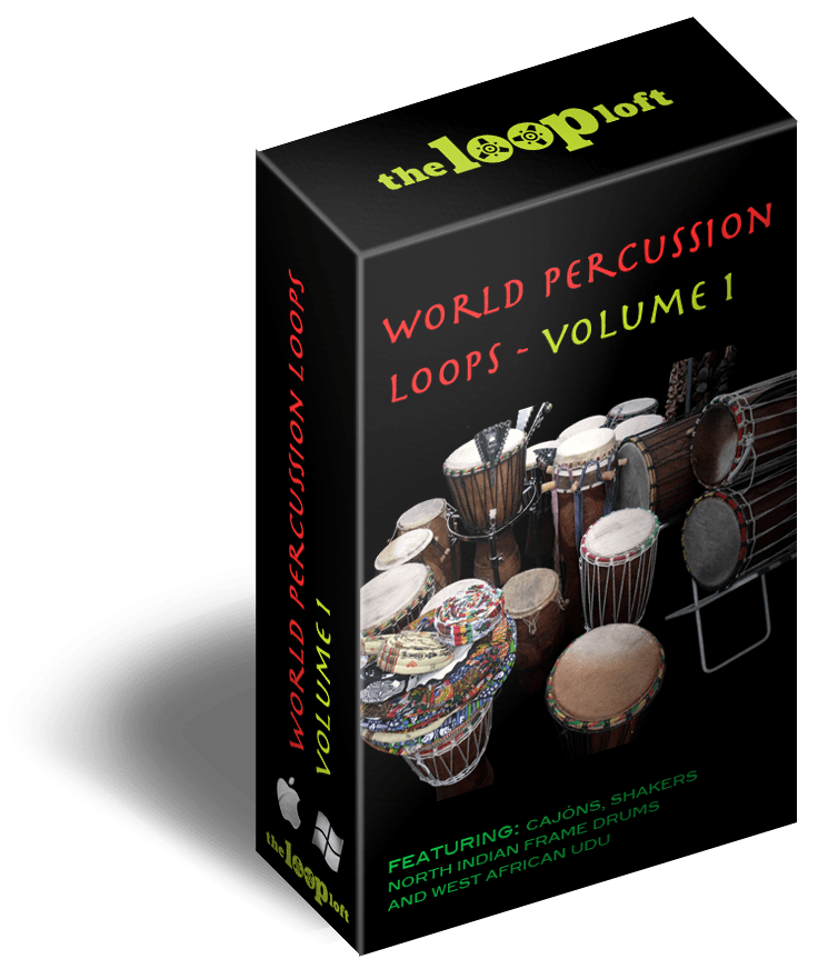 The Loop Loft Loop Pack World Percussion Loops