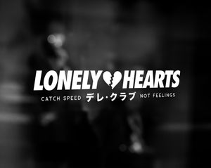 LONELY HEARTS DECAL - WHITE
