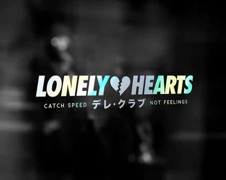 LONELY HEARTS DECAL - VARIANT